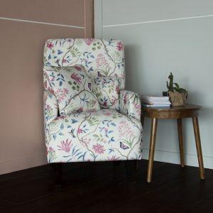 single chair shabby